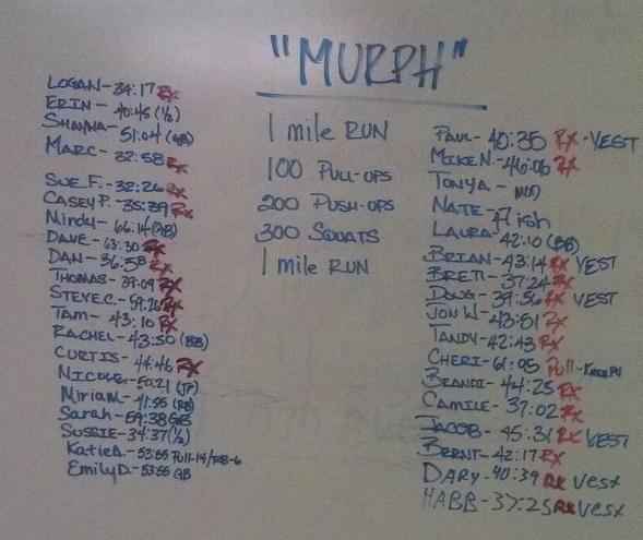 Murph 2013