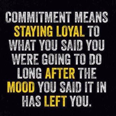 comitment means
