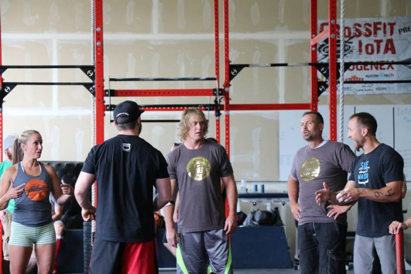Daryl has just heard the final tie breaker WOD.... so how should we caption this photo?